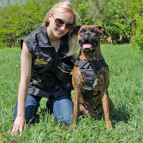 Veste d'entrainement et dressage chien «Poche magique» - V44