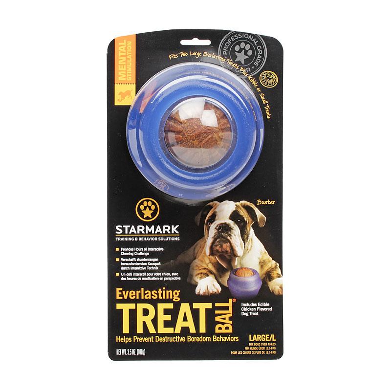 Jouet solide pour grand chien everlasting treat ball - Jouet pour chien pas cher ...