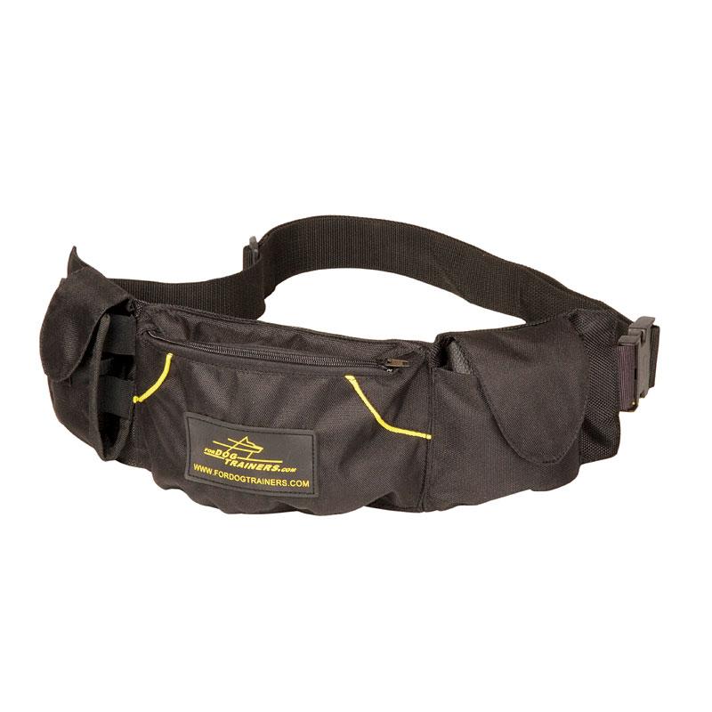sac ceinture pour friandises chien poches remplies te79. Black Bedroom Furniture Sets. Home Design Ideas