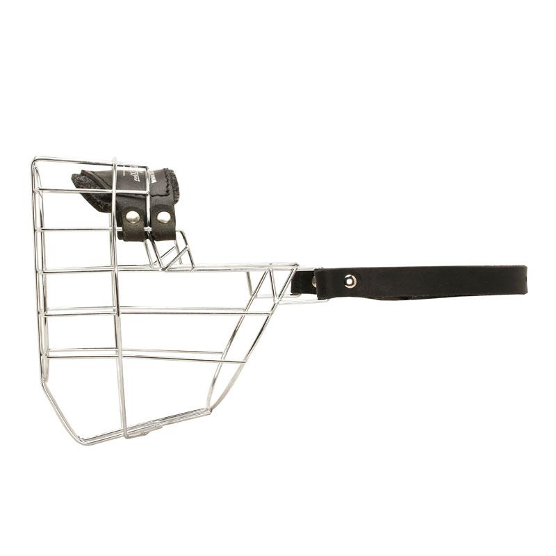 museliere rottweiler femelle en metal m9 16. Black Bedroom Furniture Sets. Home Design Ideas